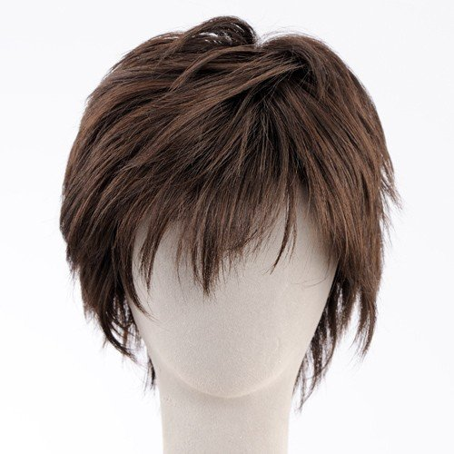 ネット限定価格 マッシュショート 軽いウイッグ 自然仕上げ ハンドメイド  ご来店で調整カット付き 医療用|super-hair-seo|05