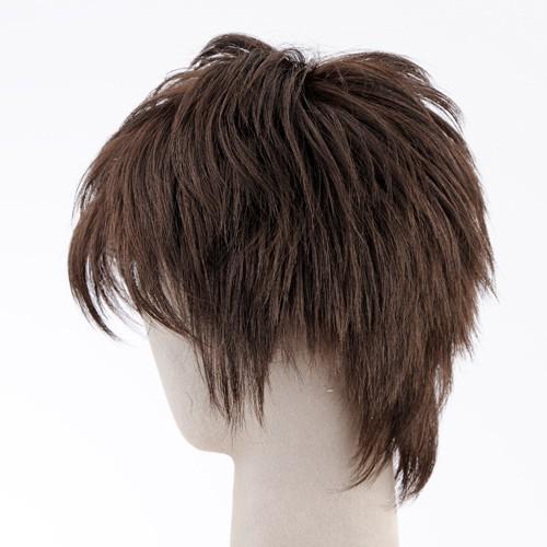 ネット限定価格 マッシュショート 軽いウイッグ 自然仕上げ ハンドメイド  ご来店で調整カット付き 医療用|super-hair-seo|06