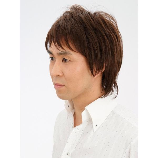 フェザーミッドレイヤー 軽いウイッグ 自然仕上げ ハンドメイド ご来店で調整カット付き 医療用|super-hair-seo|02