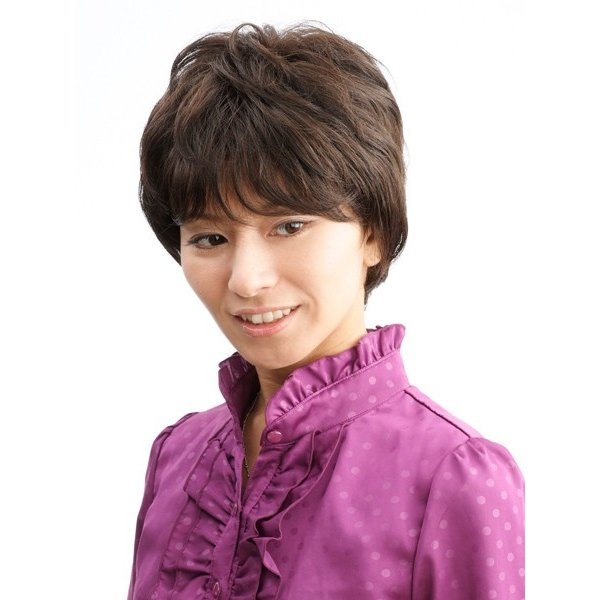 ネット限定価格 ソフトショート 軽いウイッグ 自然仕上げ ハンドメイド  ご来店で調整カット付き 医療用 super-hair-seo