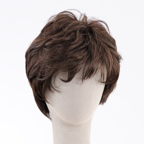 ネット限定価格 ソフトショート 軽いウイッグ 自然仕上げ ハンドメイド  ご来店で調整カット付き 医療用 super-hair-seo 04