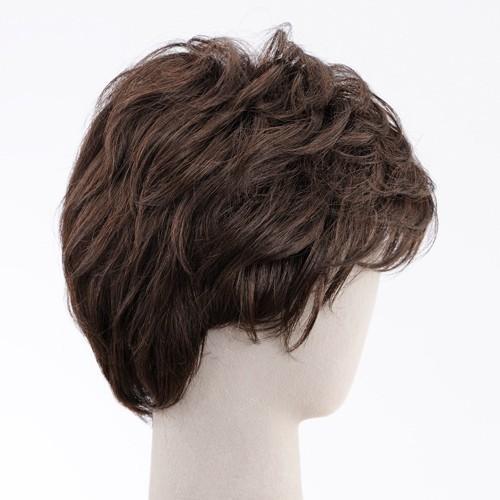 ネット限定価格 ソフトショート 軽いウイッグ 自然仕上げ ハンドメイド  ご来店で調整カット付き 医療用 super-hair-seo 05