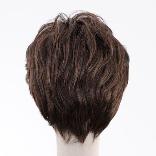 ネット限定価格 ソフトショート 軽いウイッグ 自然仕上げ ハンドメイド  ご来店で調整カット付き 医療用 super-hair-seo 06