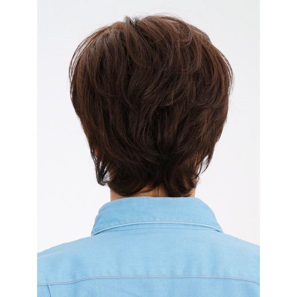マニッシュ・レイヤー 軽いウイッグ 自然仕上げ ハンドメイド ご来店で調整カット付き 医療用|super-hair-seo|04