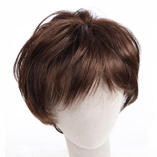 マニッシュ・レイヤー 軽いウイッグ 自然仕上げ ハンドメイド ご来店で調整カット付き 医療用|super-hair-seo|05
