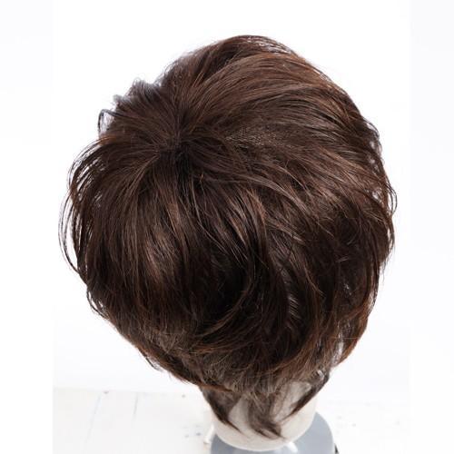 マニッシュ・レイヤー 軽いウイッグ 自然仕上げ ハンドメイド ご来店で調整カット付き 医療用|super-hair-seo|06
