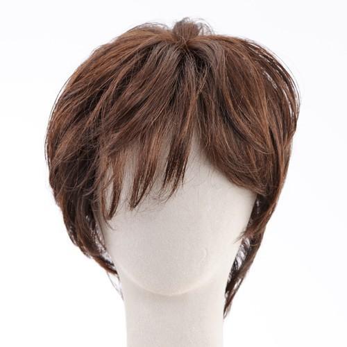 エアリーショート 軽いウイッグ 自然仕上げ ハンドメイド 医療用|super-hair-seo|05
