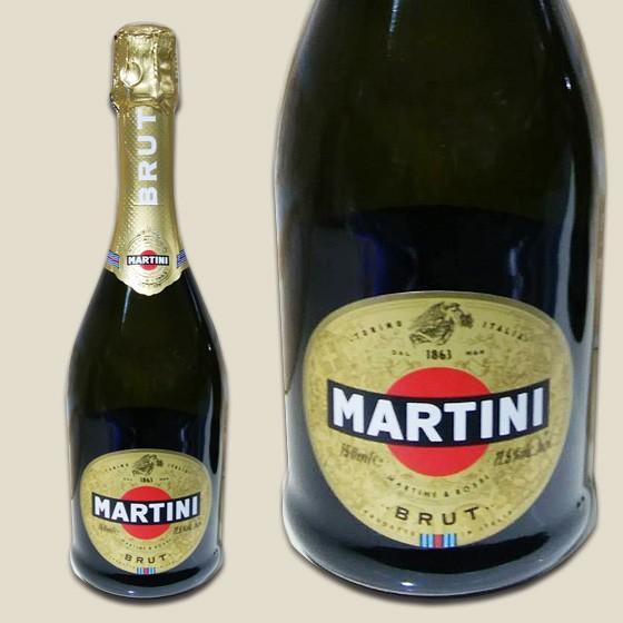マルティーニ ブリュット 750ml イタリア スパークリングワイン 辛口 フルボディ|super-sakaya