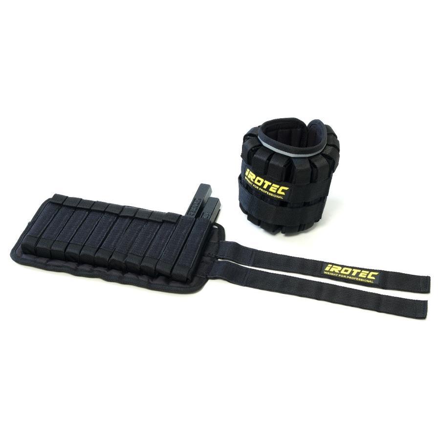 IROTEC(アイロテック)NEWブロックウエイトアンクル(片足5KG×2個)高重量/アンクルウエイト アンクル 筋トレ トレーニング器具 筋力トレーニング