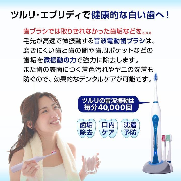 電動歯ブラシ 歯ブラシ 電動 音波 充電式 本体 音波 替えブラシ3本 ブラシ 高性能  口臭 虫歯 充電 父の日 supereagle 05