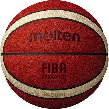 モルテン(molten) バスケットボール 7号球 (一般 大学 高校 中学校) 男子 検定球 BG5000 B7G5000 (メンズ)