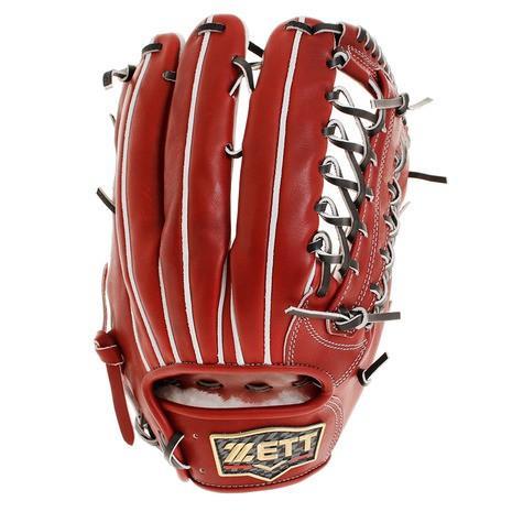 選択 ゼット ZETT 野球 硬式 グラブ プロステイタス 収納袋付 BPROGP8-4000 メンズ 早割クーポン 外野手用 プレミアム