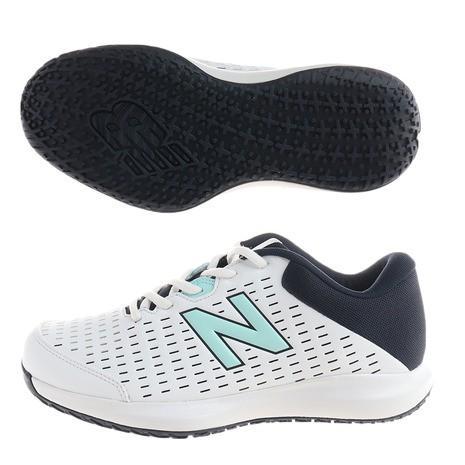 ニューバランス new balance 美品 テニスシューズ オムニクレーコート レディース WCO696B42E 日本メーカー新品