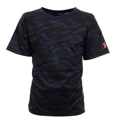 アンダーアーマー UNDER ARMOUR ボーイズ テック カモ グラフィック メーカー直売 半袖Tシャツ BB ジュニア キッズ 激安 激安特価 送料無料 ウェア 1354427 野球 MDN スポーツ