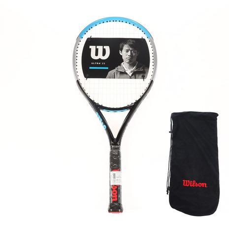 春の新作シューズ満載 ウイルソン WILLSON ジュニア 硬式用テニスラケット ULTRA 国内正規品 V3.0 キッズ モデル着用&注目アイテム 25 WR043610S
