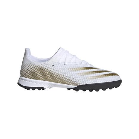 アディダス adidas ジュニアサッカートレーニングシューズ エックス ゴースト.3 サッカーシューズ 商舗 トレシュー 数量は多 キッズ TF EG8214