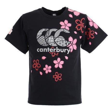 売り出し カンタベリー canterbury ジャパンワンチームブロッサムTシャツ 送料無料カード決済可能 メンズ 19 RA30301