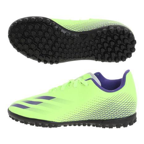 アディダス adidas ジュニアサッカートレーニングシューズ エックスゴースト.4 新作続 TF EG8229 トレシュー ※ラッピング ※ J サッカーシューズ キッズ