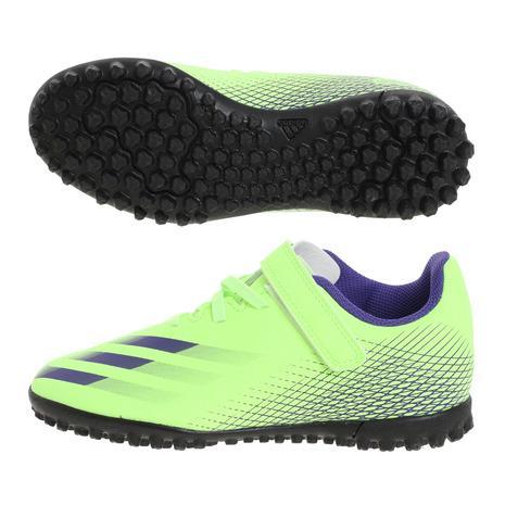 送料無料 新品 アディダス adidas 本物 ジュニアサッカー トレーニングシューズ エックス ゴースト4 キッズ サッカーシューズ J ターフグラウンド用 TF FW9574