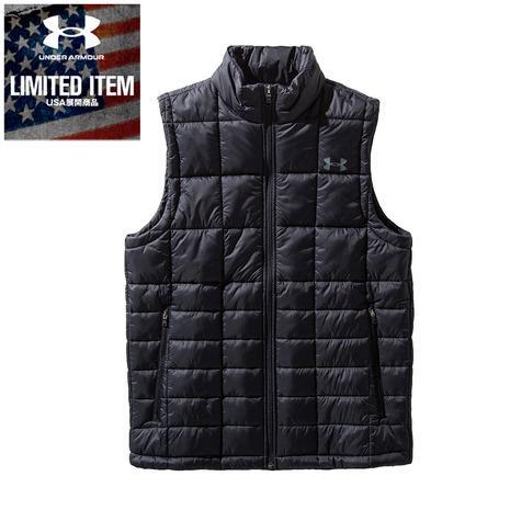 アンダーアーマー 安い 激安 プチプラ 高品質 UNDER メーカー再生品 ARMOUR Armour Insulated Vest 1360551 PCG BLK スポーツウェア 中綿ベスト オンライン価格 AT メンズ