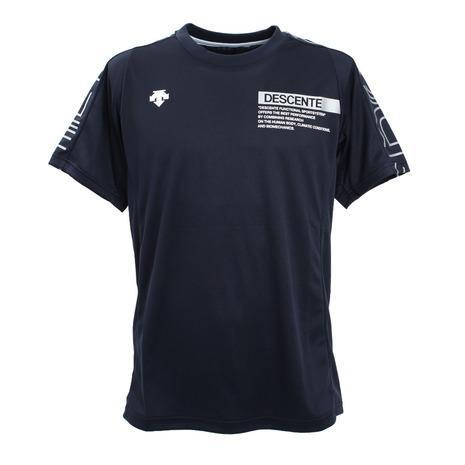 ブランド買うならブランドオフ デサント DESCENTE 半袖プラクティスシャツ NVSV 期間限定 DVUQJA51 メンズ