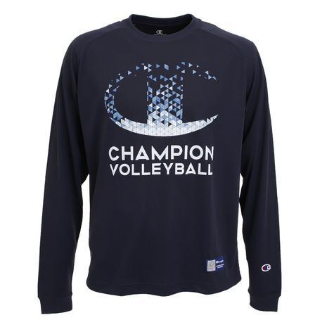 チャンピオン CHAMPION プラクティス ロングTシャツ C3-SV401 バレーボールウェア 激安通販販売 スポーツウェア 370 メンズ いつでも送料無料