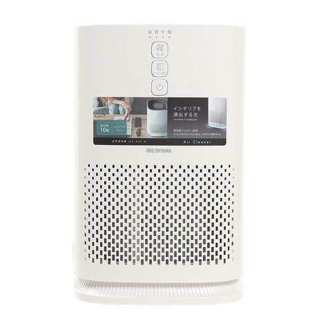 アイリスオーヤマ IRIS OHYAMA 空気清浄機 100%品質保証! 10畳 コンパクト 静音 花粉 ハウスダスト IAP-A25-W ほこり におい キッズ メンズ PM2.5 低廉 レディース 省エネ