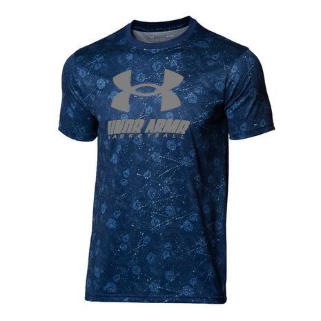 アンダーアーマー UNDER ARMOUR 即納 テック フルプリント メンズ 408 セール特価 1364720 Tシャツ