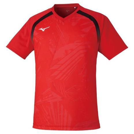ミズノ MIZUNO 卓球ウエア レプリカシャツ 赤 割り引き レッド 82JA0Z2062 レディース メンズ 25%OFF