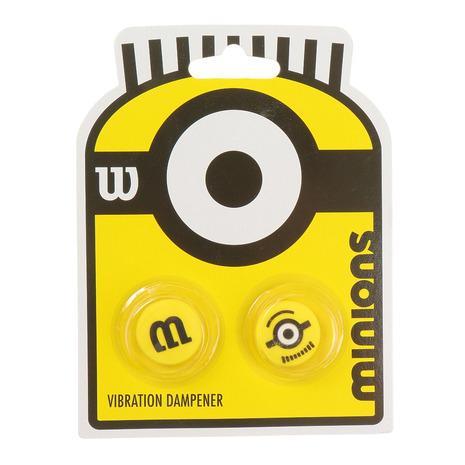 ウイルソン WILLSON MINIONS VIBRATION DAMPENERS メンズ WR8408501001 現金特価 レディース 低価格化 2PK