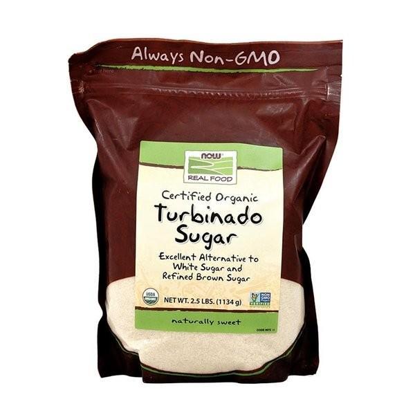 ナウフーズ 認定オーガニックタービナドシュガー1134g【NOW FOODS】Certified Organic Turbinado Sugar 2.5 lbs