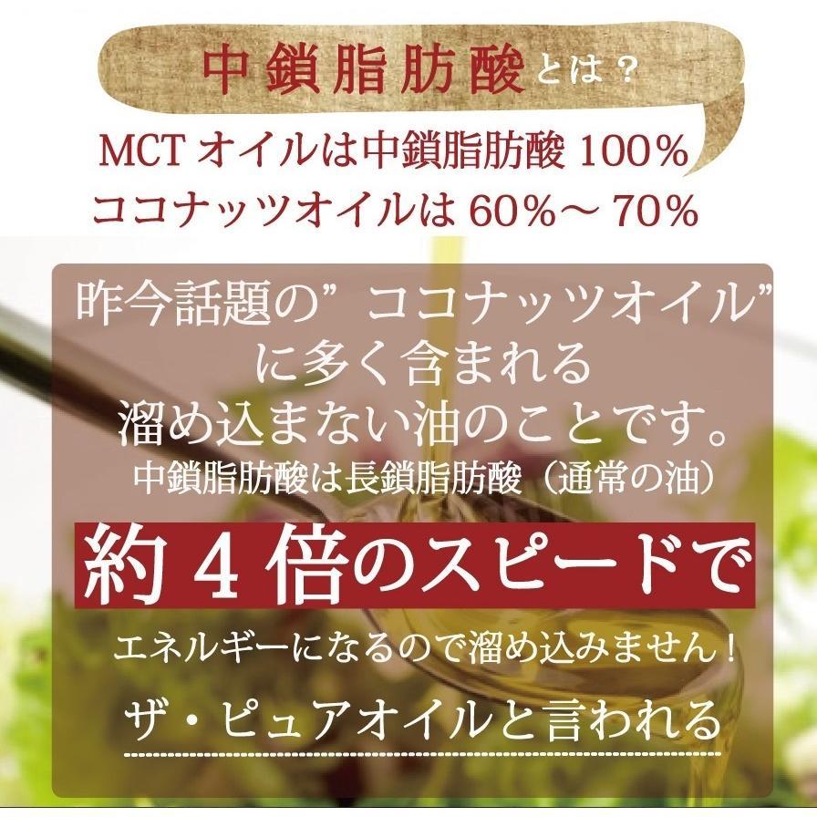 MCTオイル プレミアムMCTオイル1本 450g ダイエット 中鎖脂肪酸 100% ココナッツオイル supplemarche 06