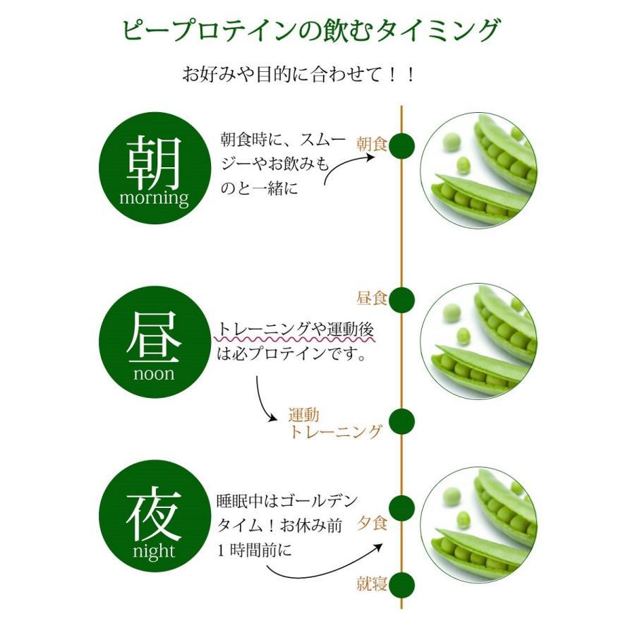 プロテイン ピープロテイン 500g ダイエット ビーガン 仕様 ボタニカル エンドウ豆 たんぱく質|supplemarche|11