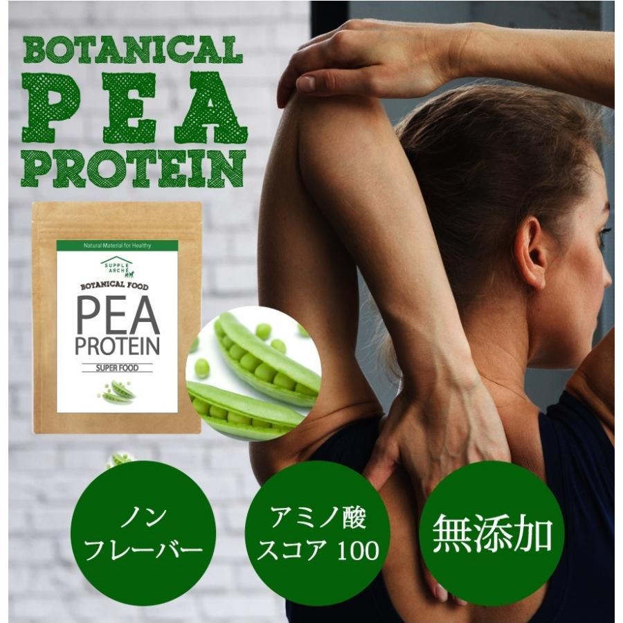 プロテイン ピープロテイン 500g ダイエット ビーガン 仕様 ボタニカル エンドウ豆 たんぱく質|supplemarche|05