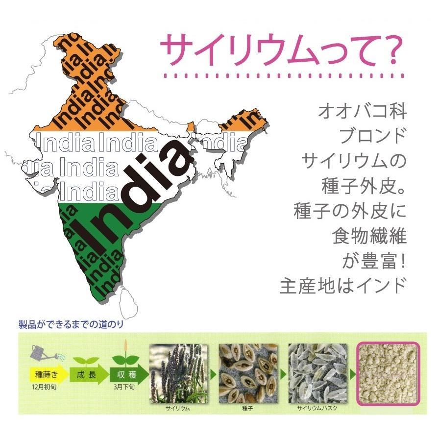 サイリウム 600g オオバコ 送料無料 国内製造 インド産 糖質ゼロ 糖質制限 食物繊維 無添加・無保存料 ダイエット 置換|supplemarche|04