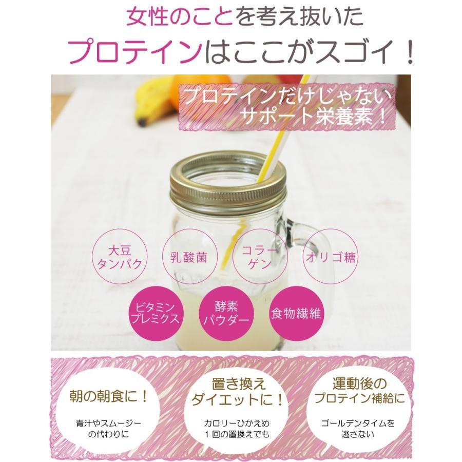 お徳用2個セット ボタニカル ソイプロテイン 300g(非遺伝子組替) 選べる9種類の味 7種のビタミン コラーゲン 乳酸菌 酵素パウダー|supplemarche|09