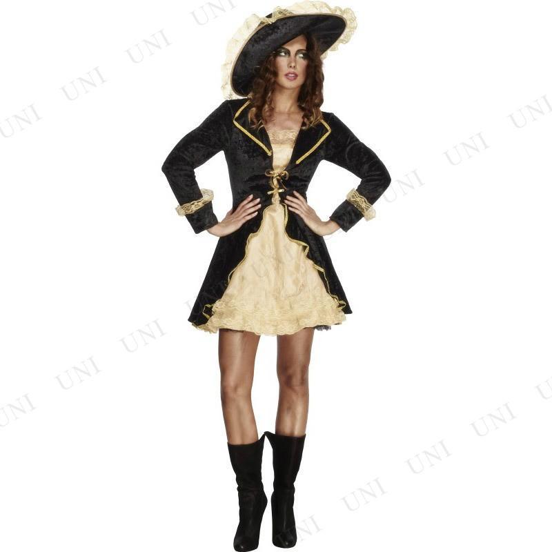 女海賊 スワッシュバックラー 大人用 L 仮装 衣装 コスプレ ハロウィン 余興 女性用