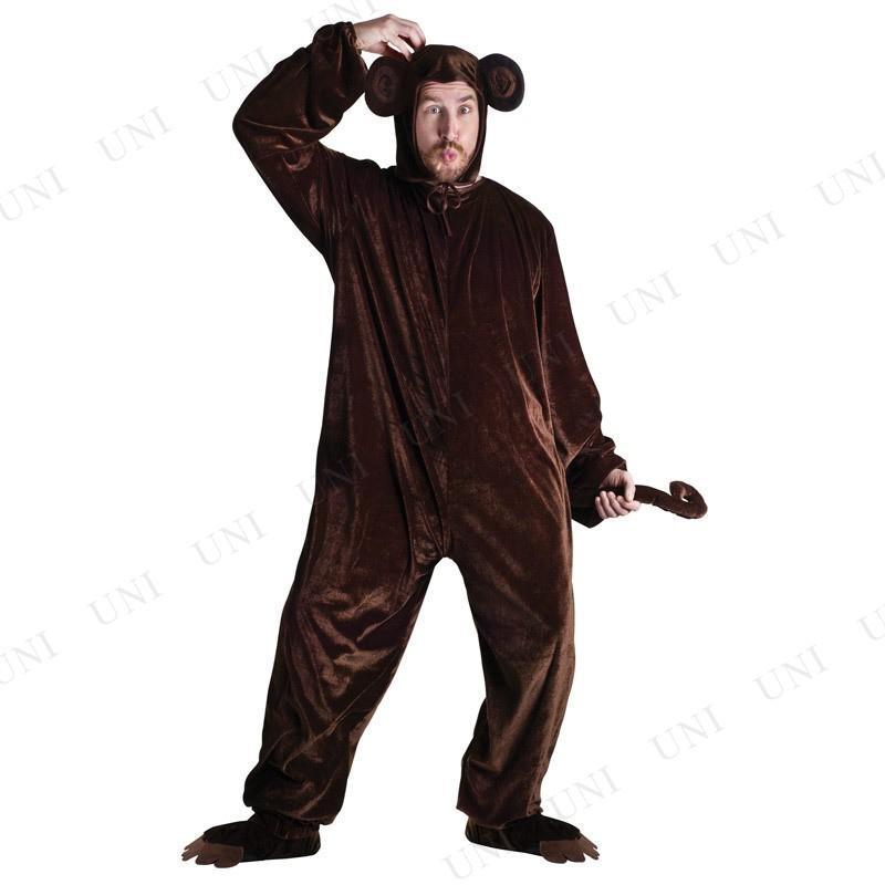 着ぐるみ サル コスプレ 衣装 ハロウィン 仮装 余興 コスチューム 大人用 メンズ