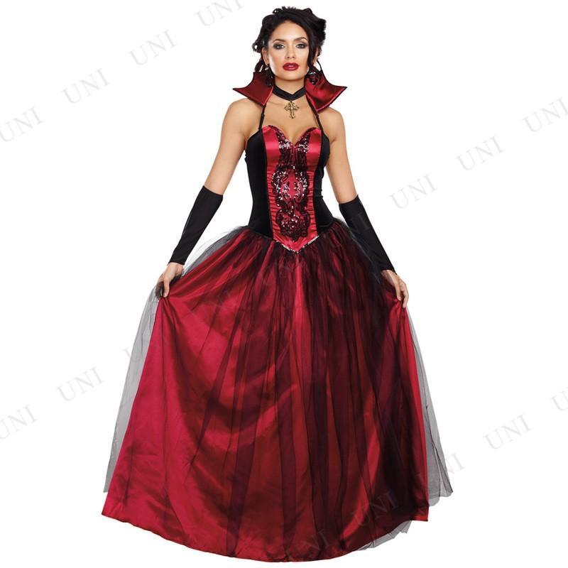 ハロウィン コスプレ 仮装 衣装 余興 大人用 ブラッディバンパイア 女性用 S