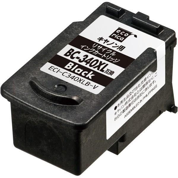 BC-340XL ECI-C340XLB-V エコリカ リサイクルインク|supplyr