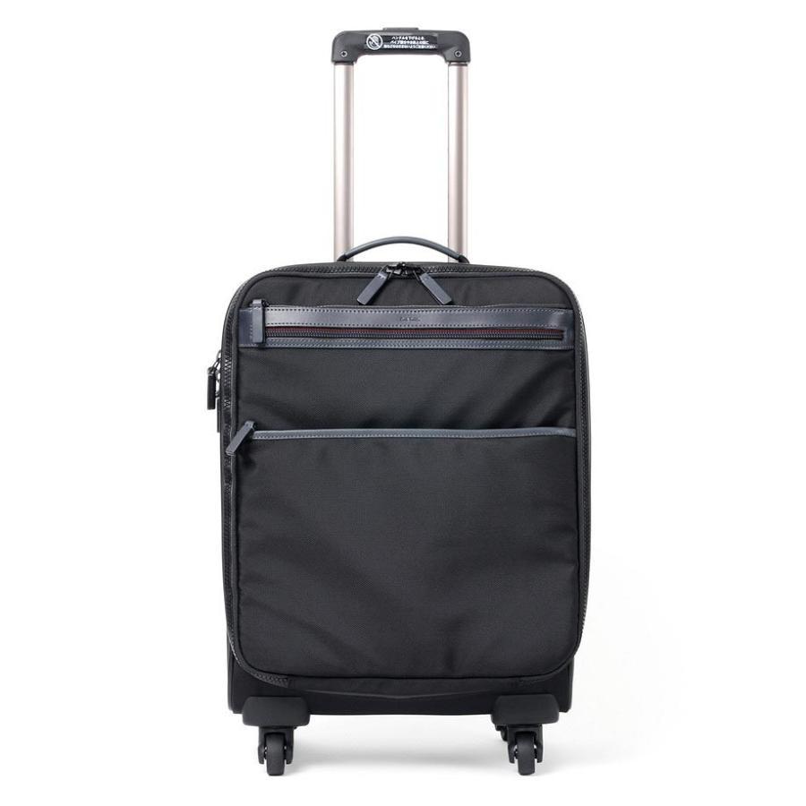 正式的 ポールスミス PaulSmith キャリーケース スーツケース バッグ ブラック 旅行鞄 マルチステッチ 51×39×27 195201, 村の鍛冶屋 c38a31c7