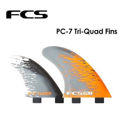 セール 登場から人気沸騰 送料無料 FCS エフシーエス フィン トライ クアッド パフォーマンスコア/PC-7 TRI QUAD FIN SET, トミウラマチ ca276e4b