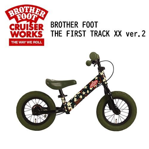 【送料無料】バランスバイク,キックバイク,ペダル無し,自転車,子供用,キッズ用●BROTHER FOOT THE FIRST TRACK XX ver.2 CAMO