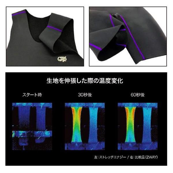 送料無料 SURFGRIP サーフグリップ 防寒対策 インナー 限定/PREMIUM BLACK 0.7mmジャージ インナーショートジョン|surfer|03