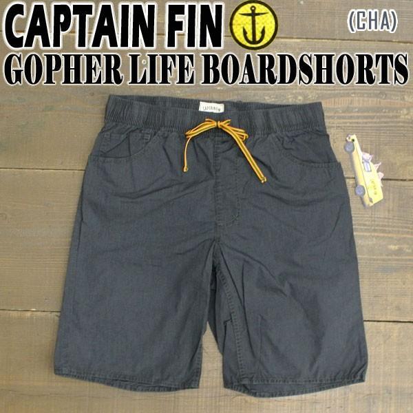 値下げしました!CAPTAIN FIN/キャプテンフィン GOPHER BOARDSHORTS CHA 男性用 サーフパンツ ボードショーツ