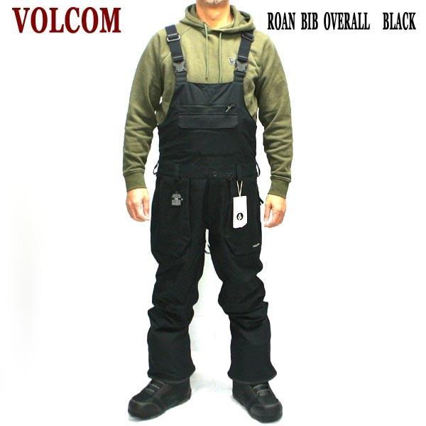 値下げしました!18-19 VOLCOM/ボルコム ROAN BIB OVERALL メンズ 男性用 スノボ用オーバーオール スノボウェア スノーウェア 耐水 防寒 機能性 10000MM ボード