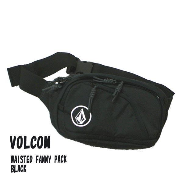 VOLCOM/ボルコム WAISTED FANNY PACK BLACK ボディバッグ ウェストバッグ 肩掛けかばん VOLCOMSTONE 男女兼用 6511650[返品、交換及びキャンセル不可]|surfingworld|02