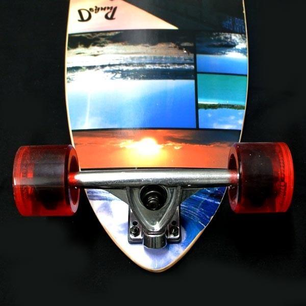 値下げしました!YOCAHER スケートボード/スケボー KICK TAIL 40 SEA SIDE サーフスケート ロンスケ ロングボード SKATEBOARD 送料無料 スケボー 完成品 SK8|surfingworld|04