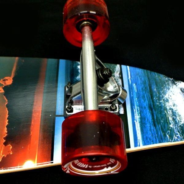 値下げしました!YOCAHER スケートボード/スケボー KICK TAIL 40 SEA SIDE サーフスケート ロンスケ ロングボード SKATEBOARD 送料無料 スケボー 完成品 SK8|surfingworld|07