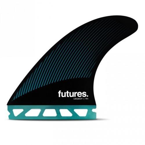 フューチャーフィン サーフィン フィン FUTURES FINS RTM HEX R6 TEAL/BLACK